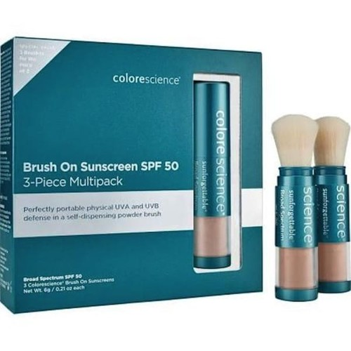 Colorescience Brush-On Sunscreen SPF 50 Multipack