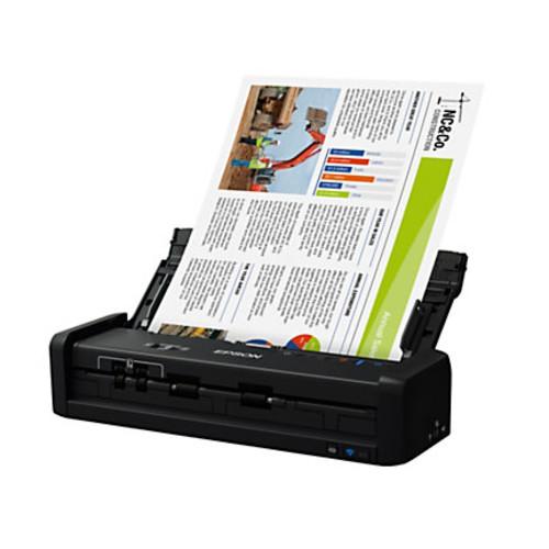 Epson WorkForce Wireless Portable Duplex Document Scanner With ADF, ES-300W
