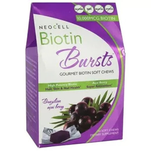 Neocell Laboratories Biotin Bursts Acai Berry 30-count