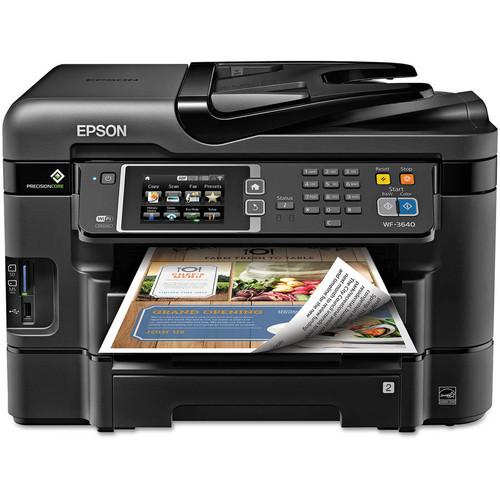 Epson WorkForce WF-3640 All-in-One Inkjet Printer