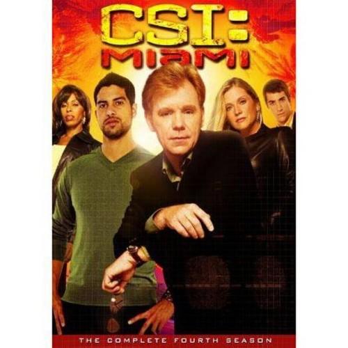 Csi:Miami complete fourth season (DVD)