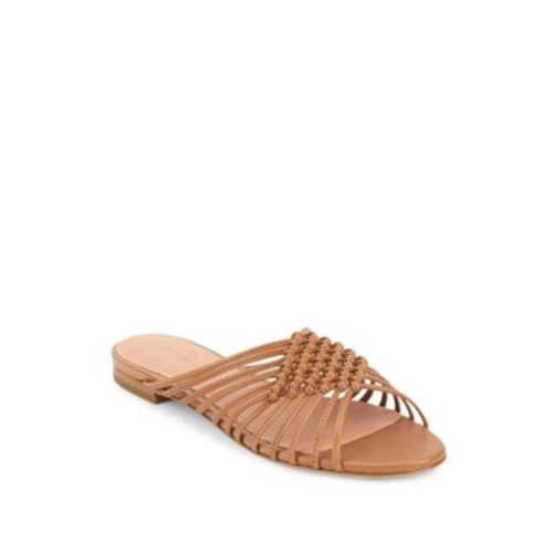 Sigerson Morrison - Aggie Strappy Leather Slide Sandals