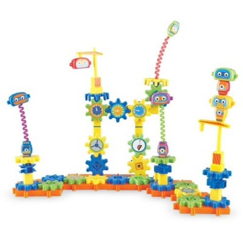 Learning Resources Gears! Gears! Gears! Robot Factory Building Set 80 Pieces