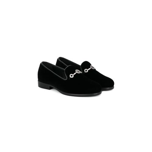 classic velvet loafers