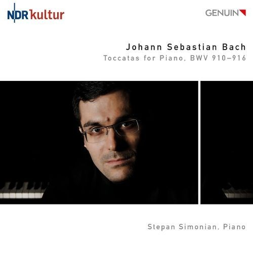 Bach: Toccatas for Piano [CD]