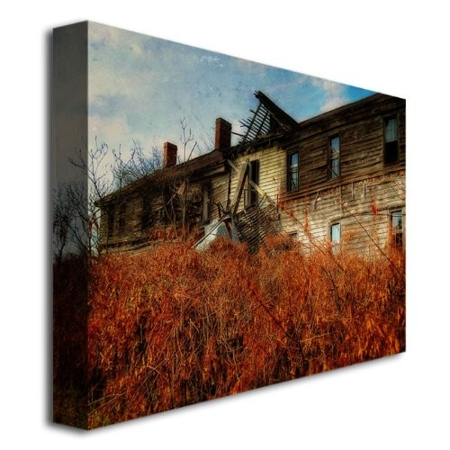 Forgotten Hotel by Lois Bryan, 16x24-Inch Canvas Wall Art [16 by 24-Inch]