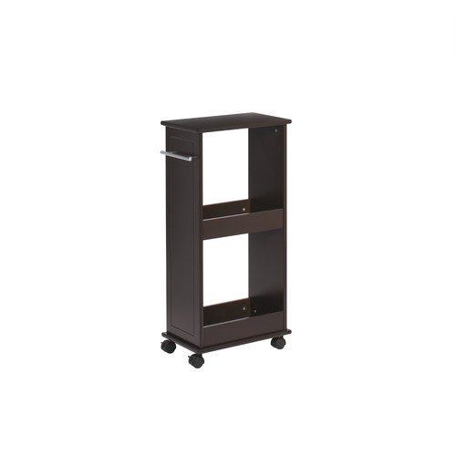 RiverRidge Home Rolling Cabinet with Shelves, White