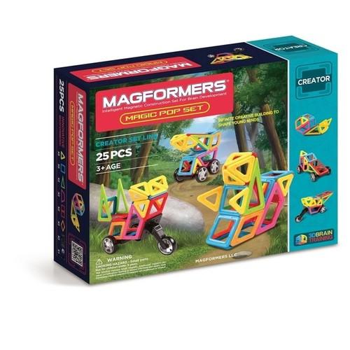 Magformers Magic Pop 25 Piece Magnetic Construction Set