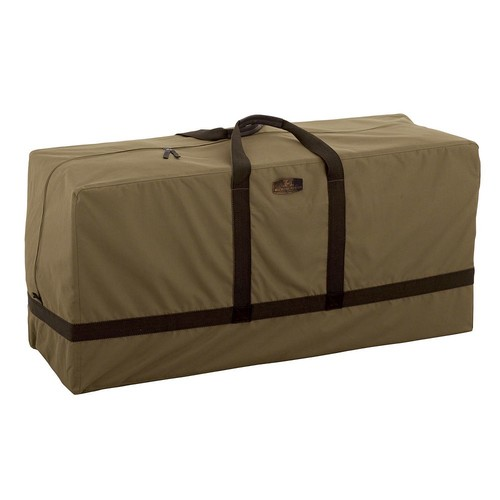 Classic Accessories Hickory Patio Furniture Cushion Storage Bag, Tan