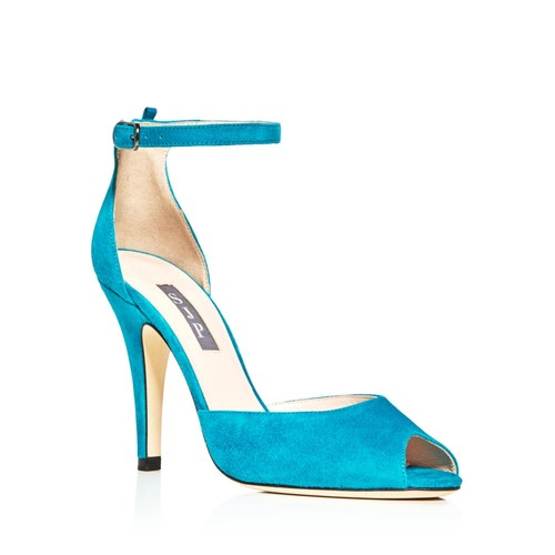 SJP BY SARAH JESSICA PARKER Marquee Suede High Heel Sandals - 100% Exclusive