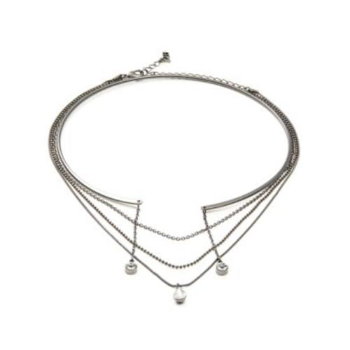 Multi-Row Choker Necklace