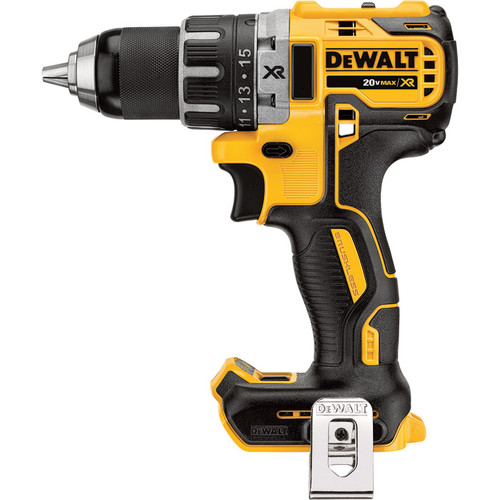 DEWALT 20V Li-Ion MAX XR Compact Cordless Electric Drill/Driver  Tool Only, Brushless, 1/2in. Chuck, 2000 RPM,