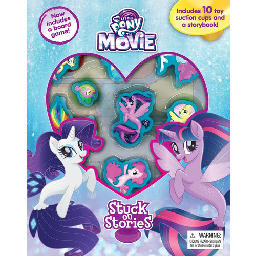 My Little Pony The Movie Stuck on Stories Book