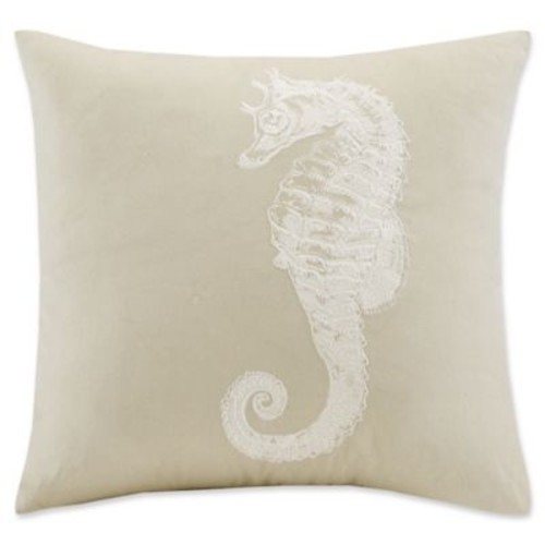 Harbor House Anslee Square Throw Pillow in Taupe