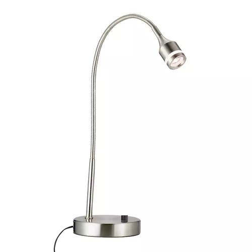 Adesso Prospect Brushed Steel LED Desk Lamp