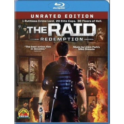 The Raid: Redemption (Unrated) (Includes Digital Copy) (UltraViolet) (Blu-ray)
