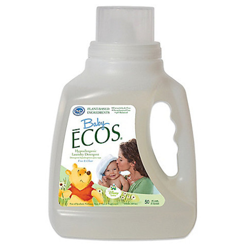 Disney Baby Baby ECOS Free & Clear 50-Ounce Laundry Detergent