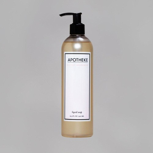 Sea Salt Grapefruit Liquid Soap design by Apotheke