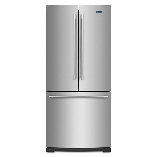 Maytag 30 in. W 20 cu. ft. French Door Refrigerator in Fingerprint Resistant Stainless Steel
