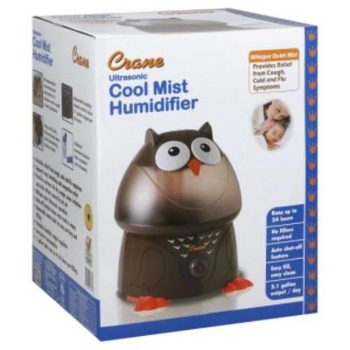 Crane USA EE-8189 Ultrasonic Cool Mist Humidifier - Owl