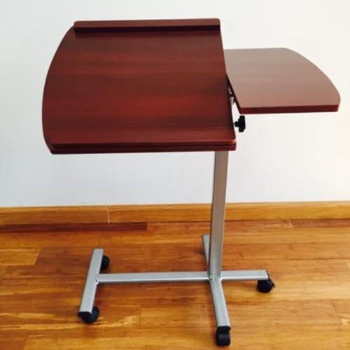 BTEXPERT Premium Wood Laptop Adjustable Desk Stand - Cherry