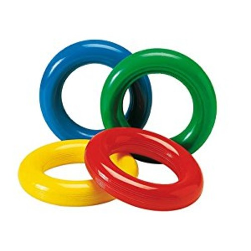 Gymnic Gym Ring (Set of 4), Multicolor
