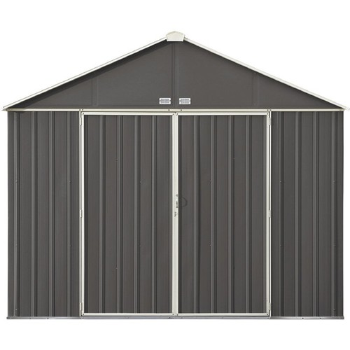 Arrow EZEE Shed Steel Storage Shed 10ft. x 8ft., High Gable