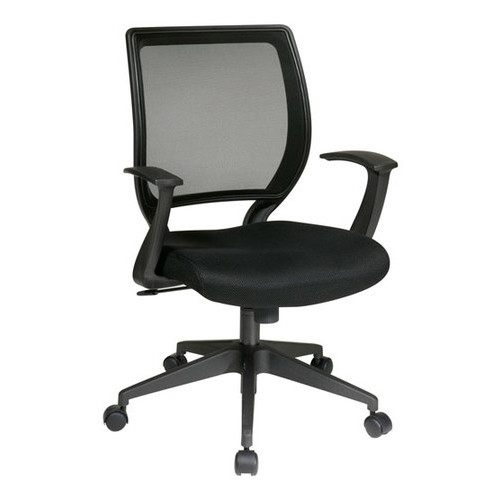 Office Star Furniture - Fabric Task Chair - Black