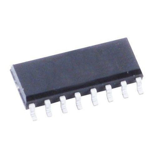 INTEGRATED CIRCIUT CMOS TRIPLE 2- CHANNEL MULTIPLEXER SOIC-16