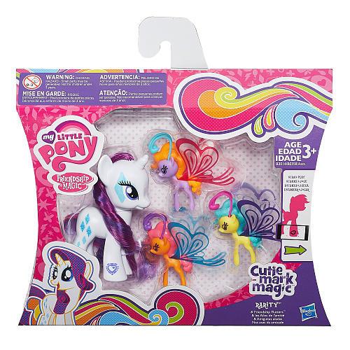 My Little Pony Cutie Mark Magic Rarity & Friendship Flutters Figures
