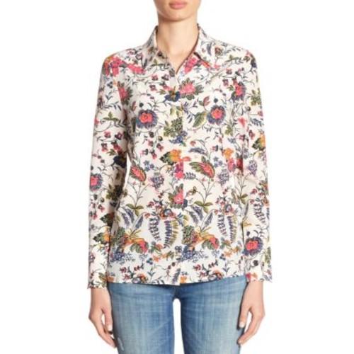 TORY BURCH Erica Silk Shirt
