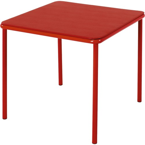Cosco Products Kid's Vinyl Top Table, Red [Red, Table]
