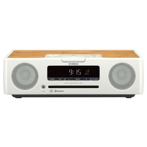 TSX-B235 Desktop Audio System (White)