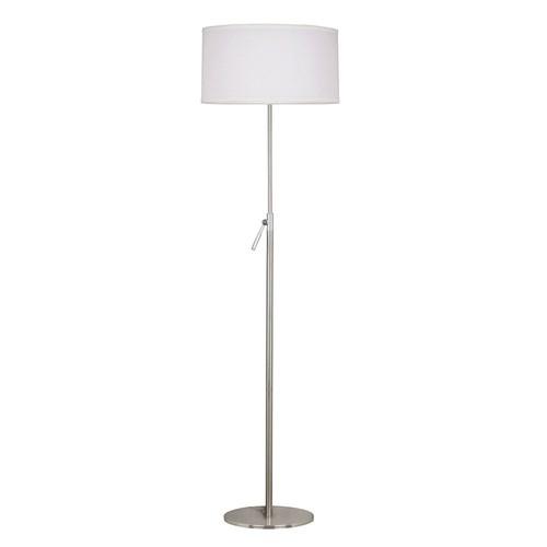 Kenroy Home Propel Floor Lamp, Brushed Steel