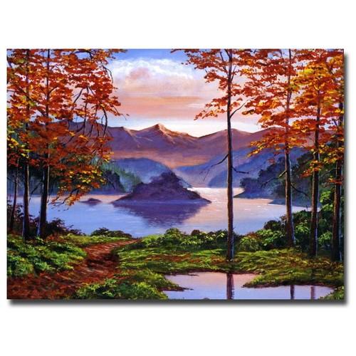 David Lloyd Glover 'Sunset Reverie' Canvas Art