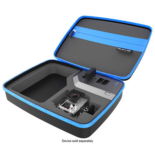 polarpro - PowerVault External Battery Action Camera Case - Black