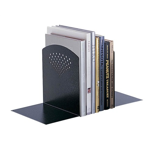 Safco Products 3115BL Jumbo Bookends, Black [Jumbo]