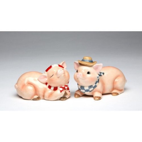 Cosmos Gifts Pig Salt and Pepper Set