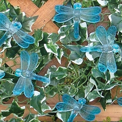 Solar String Light - Dragonfly (Blue) 20 ct.