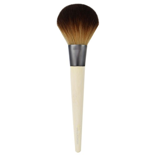 EcoTools Large Powder Brush, Made with Recycled and Sustainable Materials, Cruelty Free Synthetic Taklon Bristles, Aluminum Ferrule, Recycled Packaging [Sheer Powder]