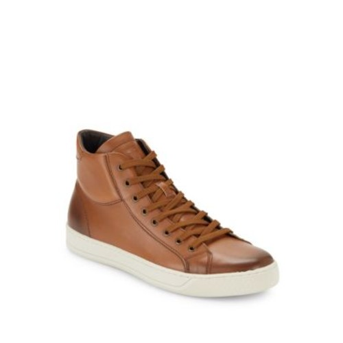 Bruno Magli - Will Leather High-Top Sneakers