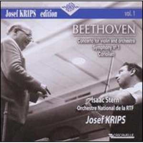 Beethoven: Concerto for Violin and Orchestra; Symphony No. 1; Coriolan By Isaac Stern (Audio CD)
