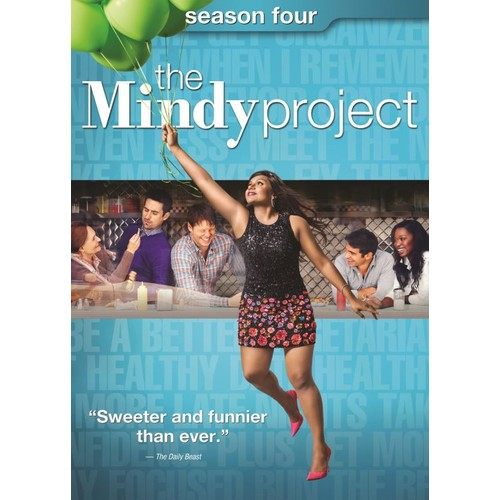 The Mindy Project: Season Four [4 Discs] [DVD]
