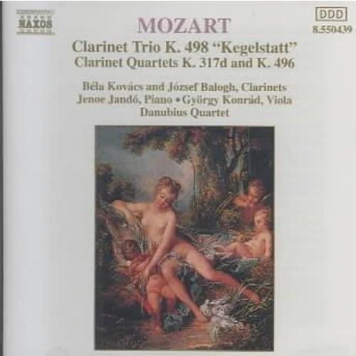 Various - Mozart:Kegelstatt Trio Clarinet Quartets