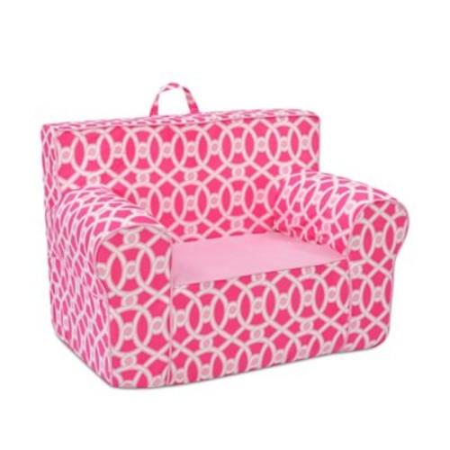 kangaroo trading company Grab-n-Go Tween Foam Chair; Passion Pink