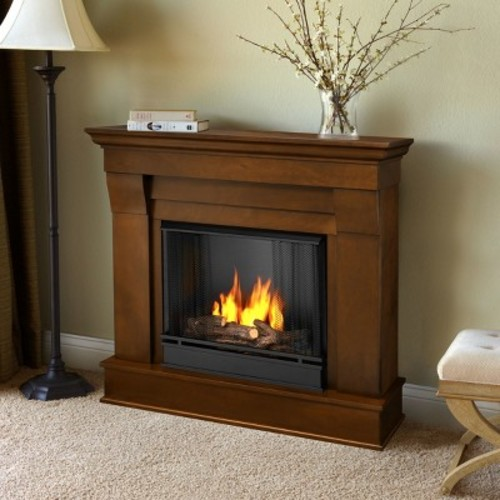 Real Flame - Chateau Gel Fireplace-Espresso