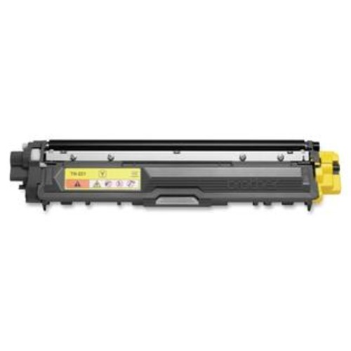 Brother TN221Y Brother Toner Cartridge - Yellow - Laser - 1400 Page - 1 Each