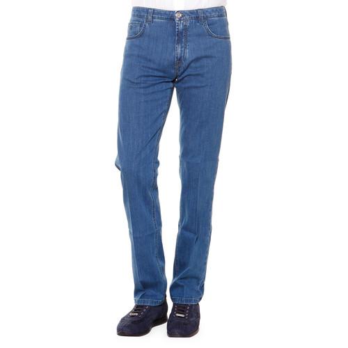 BURBERRY BRIT Five-Pocket Denim Jeans