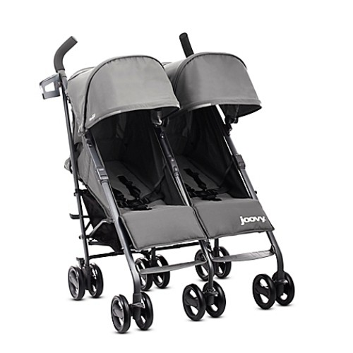 Joovy Twin Groove Ultralight Umbrella Stroller in Charcoal