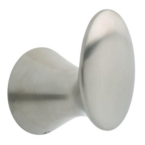 Franklin Brass 139571 Somerset Bath Hardware Accessory Robe Hook, Satin Nickel [Satin Nickel, Robe Hook]